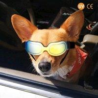 Dog Apparel Colorful Glasses Sunglasses Adjustable Windproof Cool Design Fashion Pet Cat Big Wearing