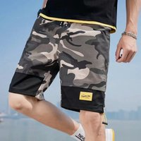 Short Fashion Camouflage Men Trend Loss Comfortable Colour Adjustment Beach Five-point Broek Summer Sport Leisure Breathing