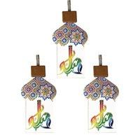 Ramadan Festival Party Lights 2 metri 10 LED Star Mosque Light Lantern Lantern Eid Mubarak Strings Islam Decorazione evento musulmano GWD5999
