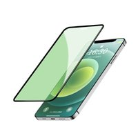 Green Light Real Eye Protection Cell Phone Screen Protectors Tempered Glass Film For iPhone 12 11 Pro X XR max
