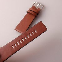 Watch Bands Genuine Leather Straps Watchband 22 24 26 28 30 32 34mm Smooth For Soft Comfortable DZ4386 Bracelet