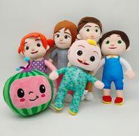 all'ingrosso regali di chritmas cocomelon peluche giocattolo Jojo Little Boy Watermelon Doll Bambini