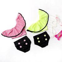 Girls Floral Swimwear Infant Halter Rompers Swimsuit girl ruffle swim trunks Clothing 2Pcs Bikinis Beach Bathing Suit Onesies 3088 Q2