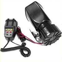 Other Auto Electronics 100W 12V 7 Sound Loud Car Alarm Fire Horn Siren PA Speaker MIC System Motorcycle Tone