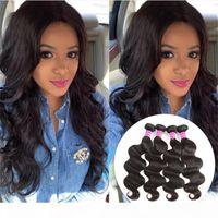 Brazilian Body Wave Human Hair Weave Bundles Natural Color Straight Unprocessed Virgin Hair Bundles Bulk Vendors Human Hair Extensions