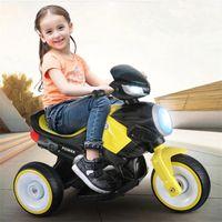 Bambino Auto per la batteria del triciclo elettrico del motociclo con musica dei bambini di musica sui giocattoli del triciclo per i bambini Auto da collezione Giocattoli per i ragazzi