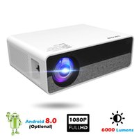 Full HD LED Projector Android Bluetooth Wifi 4K 3D Smart Video For Home Mobile Phone Theater Beamer Projectors