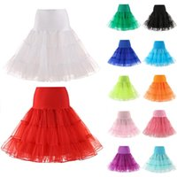 Skirts Women Lady Bridal Swing Skirt Petticoat Breathable For Dancing Ballet Party Prom HSJ88