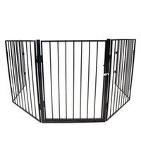 Accessorio per mobili Metallo Fireplace Recinzione Baby Safety Protection Heatth Gate Pet Play Yard Home Giardino Soggiorno Soggiorno Strumento Decor