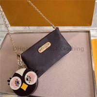 1 + 1 Boneca Gratuita Sacos de Moda Saddle Bag Bolsas Mulheres Ombro Crossbody Wallet Telefone Compras Luxurys