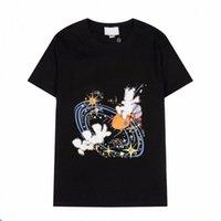 Femmes Mens Designers T Shirts T-shirts Lettre de la mode Impression à manches courtes Cat Lady Tees Casual Vêtements 21SS T-shirts Vêtements 2021 Italie K9ji #
