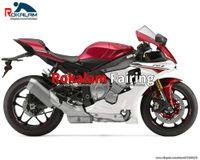 Части обтекателей для Yamaha YZF-R1 YZF 1000 2015 2016 2017 2018 2019 YZFR1 YZF R1 15-19 красный белый капот (литье под давлением)