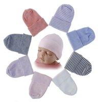 Baby Hat Girl Boy Headwrap Raya recién nacido Crochet Knit Turban Indian Soft Elastic Hospital Hospeie Warm Winter Super Stretch para Party Ins