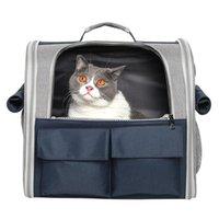 Pet Bag Out портативный кот и собака дышащая школьная поездка складной плечевой рюкзак плечевых носителей, домики ящики