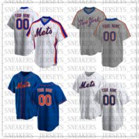 Custom 12 Francisco Lindor Mets 38 Jacob Deemom Bayball 20 Pete Alonso Darryl клубника Размер S-XXXL-015