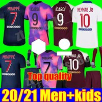 20 21 MBAPE KEAN Soccer Jerseys 2021 PSGJersey Marquinhos Icardi di Maria Men Shirt Kid Kit Youth Set Maillots de Football