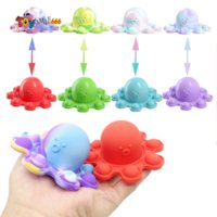 Sided Flip Double Reversible Baby Pupite Fidget Toys For Autism Kids Adults Antistress hand Reliever Decompression Toy