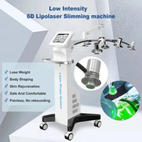 6D lipo laser machine lasers body slimming cellulite removal CE Approved 532nm 635nm wavelength reshape bodyline