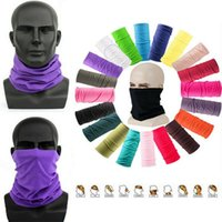 Outdoor Sports Cycling Protective Mask Party Decoration Neck Gaiter Biker's Tube Bandana Scarf Magic Head Face