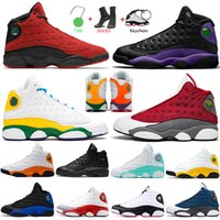 Nike Air Jordan Retro Luxo Jumpman 13 13s Court Roxo Vermelho Flint Tênis de basquete masculino Hyper Royal Playground tênis feminino esportivo