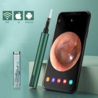 5.5 ملليمتر لاسلكية wifi نظافة الأذن اختيار منظار الأذن الكاميرا بوريسكوب أداة إزالة الشمع مضيئة مع الصمام ضوء المنظار تنظيف الأسنان الفم عن طريق الفم الرعاية الصحية