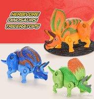 Dinosaure World Easter Surprise Oeufs Dinosaure Modèle Mini Figures Bébé Enfants Études Jouets Cadeau 05