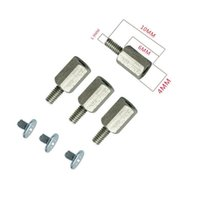 Fans & Coolings 10 Set Hand Mounting Kits Stand Off Screw Hex Nut For A-SUS M.2 SSD Motherboard