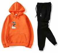 High Quality 2pcs Set sweatsuits Tracksuits Men hoodies AND pants Sets Mens Clothing Sweatshirt Pullover womens Casual Tennis Sport Tracksuit Sweat Suit