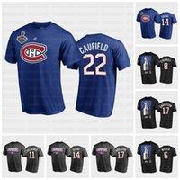 Cole Caufield Montreal Canadiens 2021 Stanley Cup final T-shirt Carey Preço Staal Jesperi Kotkaniemi Brendan Gallagher Roy Drouin Suzuki Perry
