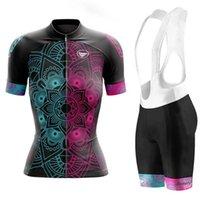 Vêtements vezzo Vêtements de vélo Jersey d'été Femme Costumes Lumière et respirante Ropa Ciclismo Mujer Sport extérieur Sport MTB Shorts Ensemble de courses de course