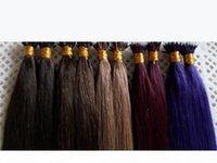 """Indian Remy Nano Hair Extensions 16""""18""""20""""22""""24"""" 1g s 100g pk INDIAN Remy Human MICRO NANO RINGS Tip Hair Extension"""