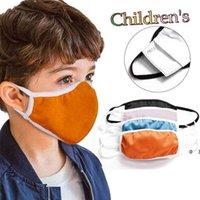 Diseñador Face Mask Cover Soft Kids Mascarillas de algodón Lavado Inserto PM2.5 Filtro Anti-Smog A prueba de polvo Explosión transfronteriza Rápido
