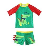# 57 Enfants enfants Baby garçon maillot de bain pour bébé cartoon patchwork Maillot de maillot de bain Ensembles Maillot Bain Garcon One-Pièces