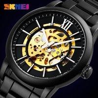Armbanduhren skmei mechanische Uhren uhr für männer mode automtik hohl zifferblatt steben wasserdichte uhr stunde horloges mannen 9242
