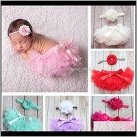 Kleidung Baby, Mutterschaft Drop Lieferung 2021 Mode Kinder Mädchen Shorts Chiffon Baby Bloomers PP Hosen Infant Kleinkind Rüschen Wickelabdeckungen W