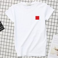 For 2020 new Summer fashion Shirts Designer Tops Luxury Letter Embroidery T Shirt Mens Women Clothing Short Sl