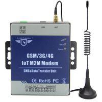 M2M 모뎀 DTU는 스마트 미터 PLC GSM / GPRS / 3G / 4G 경보 시스템을위한 투명한 전송 SMS WHILL RS485 포트를 지원합니다