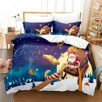 Bedding Sets Grandfather's Sleigh Duvet Cover Set 3d Digital Printing Bed Linen Fashion Design Comforter