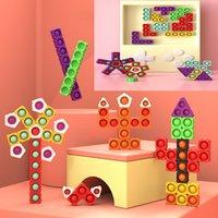 تململ اللعب diy فقاعة اللبنات الربط الإجهاد المكنة لعبة تعليمية منشأ تطوير الدماغ ممارسة التفكير لغز هدية مفاجأة بالجملة