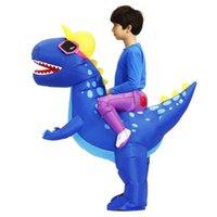 Mascot boneca traje Novo Purim Dinossauro Trajes Infláveis Fato de Halloween T-Rex Mascot Party Party Play Dissfraz para crianças adultas