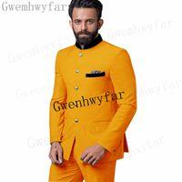 Bridalaffair 2021 New Arrival Groom Tuxedos Best Man Suits Bridegroom Men Clothes 2 Pieces Mens Suit Slim Fit Business Costume