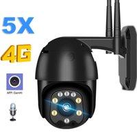Caméra IP Carte SIM 4G 1080P HD 5x Zoom Auto Focus 2.7-13.5mm PTZ WiFi Caméra Sécurité SURVEILLANCE OUTOLE SURVEILLANCE CCTV CAMHI