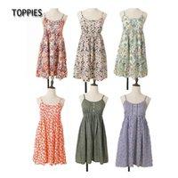 2021 Women Summer Cotton Flower Dress Beach Dress Short Vintage Dresses Mori Girls Wear vestido de verao DS265