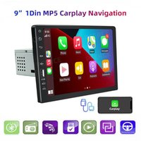 Car Video 9'' 1 Din Stereo Radio 9008CP Carplay Navigation Android Auto HD Touch MP5 Player Mirror Link FM Bluetooth Multimedia