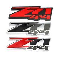 Z71 4x4 autocollant de voiture emblème badge frontal hotte gril décalque pour Chevrolet Silverado Chevy Colorado Suburban Xtreme GMC Off route 4x4