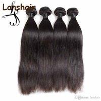 Lans vierges brésiliennes extensions de cheveux 6pcs tisser la vague de corps hétérofeuille de cheveux humains chevreuil péruvien indien remy cheveux 50g / pcs