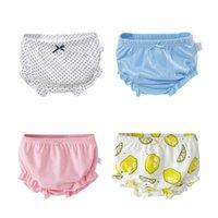 Panties 1 To 3 Years Baby Girls Cotton Underwear Cute Infant Cartoon Bow Printed Kids Underpanties Briefs