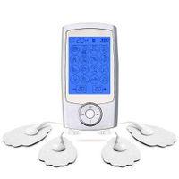 충전식 EMS Tens Unit 디지털 치료 기계 바디 마사지 뒷 팔 다리 손 마사지 장치 건강 관리 물리 치료 X0709