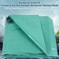 Shade PE Tarpaulin Plastic Garden Sail Boat Waterproof Canopy For Pet Dog House Truck Tent Cover Pool Sun Protection Tarp