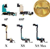 OEM USB Şarj Portu Cep Telefonu Flex Kabloları iPhone 6 6 s 7 8 Artı X XR XS Max 11 Pro 12Pro Ses Dock Konnektör Şerit Değiştirme